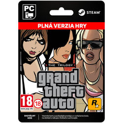 Grand Theft Auto: The Trilogy [Steam] na progamingshop.sk