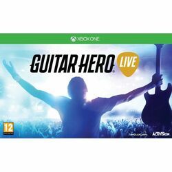 Guitar Hero Live + gitara [XBOX ONE] - BAZÁR (použitý tovar) na progamingshop.sk