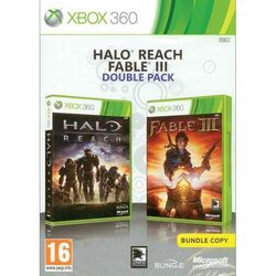 Halo: Reach + Fable 3 CZ (Double Pack) na progamingshop.sk