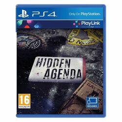 Hidden Agenda [PS4] - BAZÁR (použitý tovar) na pgs.sk