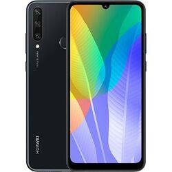 Huawei Y6p Single SIM | Black, Trieda A+ - použité, záruka 12 mesiacov na pgs.sk