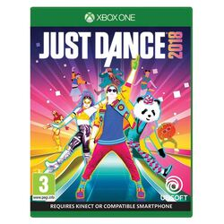 Just Dance 2018 [XBOX ONE] - BAZÁR (použitý tovar) na progamingshop.sk