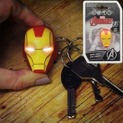 Kľúčenka Iron-Man - Helmet Svietiaca na progamingshop.sk