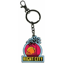 Kľúčenka Night City (Cyberpunk 2077) na pgs.sk