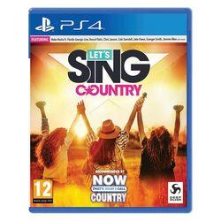 Let's Sing Country [PS4] - BAZÁR (použitý tovar) na pgs.sk