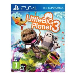 Little BIG Planet 3 [PS4] - BAZÁR (použitý tovar) na progamingshop.sk
