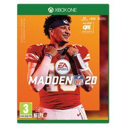 Madden NFL 20 [XBOX ONE] - BAZÁR (použitý tovar) na progamingshop.sk