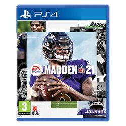 Madden NFL 21 [PS4] - BAZÁR (použitý tovar) na progamingshop.sk