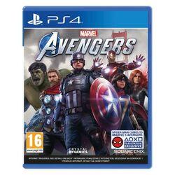 Marvel's Avengers CZ [PS4] - BAZÁR (použitý tovar) na progamingshop.sk