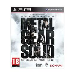 Metal Gear Solid (The Legacy Collection 1987-2012) [PS3] - BAZÁR (použitý tovar) na progamingshop.sk