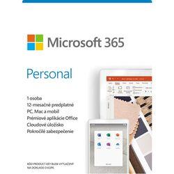 Microsoft 365 Personal - 12 mesiacov (32-bit/x64 SK) na pgs.sk
