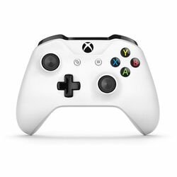 Microsoft Xbox One S Wireless Controller, white na progamingshop.sk