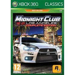 Midnight Club: Los Angeles (Complete Edition) [XBOX 360] - BAZÁR (použitý tovar) na progamingshop.sk