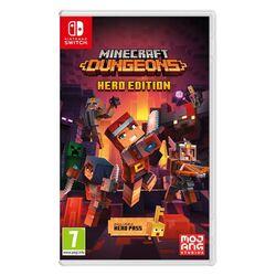 Minecraft Dungeons (Hero Edition) [NSW] - BAZÁR (použitý tovar) na progamingshop.sk
