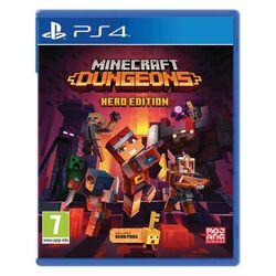 Minecraft Dungeons (Hero Edition) [PS4] - BAZÁR (použitý tovar) na progamingshop.sk