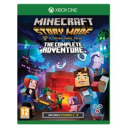 Minecraft: Story Mode (The Complete Adventure) na pgs.sk