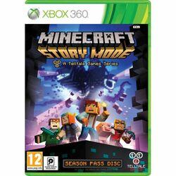 Minecraft: Story Mode [XBOX 360] - BAZÁR (použitý tovar) na progamingshop.sk