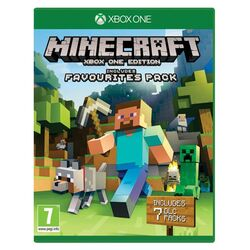 Minecraft (Xbox One Edition Favorites Pack) na progamingshop.sk