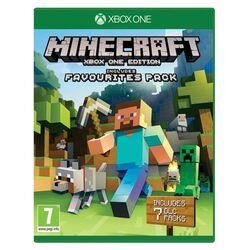 Minecraft (Xbox One Edition Favorites Pack) [XBOX ONE] - BAZÁR (použitý tovar) na progamingshop.sk