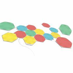 Modulárne smart osvetlenie Nanoleaf Shapes Hexagons Starter Kit, 15 panelov na progamingshop.sk