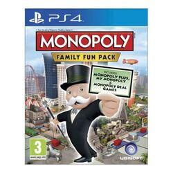 Monopoly: Family Fun Pack [PS4] - BAZÁR (použitý tovar) na progamingshop.sk