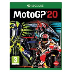 MotoGP 20 [XBOX ONE] - BAZÁR (použitý tovar) na progamingshop.sk