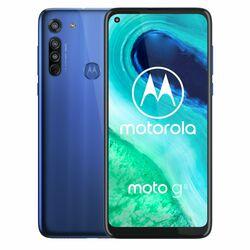 Motorola Moto G8, Dual SIM   Neon Blue, Trieda A - použité, záruka 12 mesiacov na progamingshop.sk