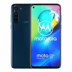 Motorola Moto G8 Power, Dual SIM   Capri Blue, Trieda A+ - použité, záruka 12 mesiacov na progamingshop.sk
