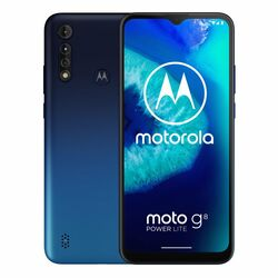 Motorola Moto G8 Power Lite, Dual SIM   Royal Blue - nový tovar, neotvorené balenie na progamingshop.sk
