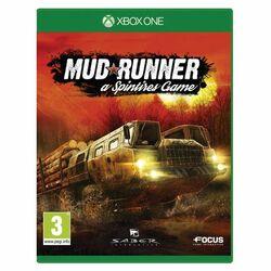 MudRunner: a Spintires Game [XBOX ONE] - BAZÁR (použitý tovar) na progamingshop.sk