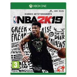 NBA 2K19 [XBOX ONE] - BAZÁR (použitý tovar) na progamingshop.sk