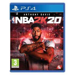 NBA 2K20 [PS4] - BAZÁR (použitý tovar) na progamingshop.sk