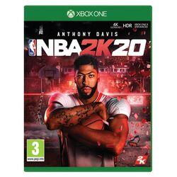NBA 2K20 [XBOX ONE] - BAZÁR (použitý tovar) na progamingshop.sk