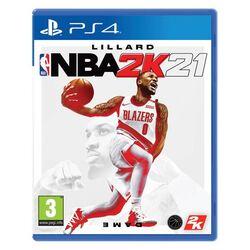 NBA 2K21 [PS4] - BAZÁR (použitý tovar) na progamingshop.sk