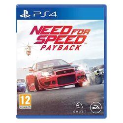 Need for Speed: Payback [PS4] - BAZÁR (použitý tovar) na progamingshop.sk