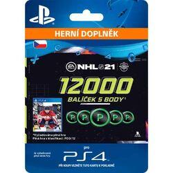 NHL 21 - 12 000 Hockey Points CZ na progamingshop.sk