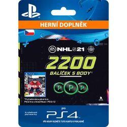 NHL 21 - 2200 Hockey Points CZ na progamingshop.sk
