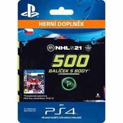 NHL 21 - 500 Hockey Points CZ na progamingshop.sk