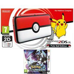 Nintendo 2DS XL (Pokéball Edition) + Pokémon Ultra Moon na pgs.sk