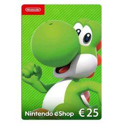 Nintendo eShop nabitie peňaženky 25€ na pgs.sk