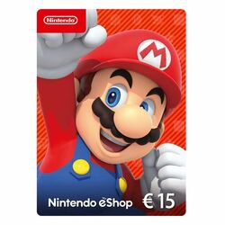 Nintendo eShop nabitie peňaženky 15€ na pgs.sk