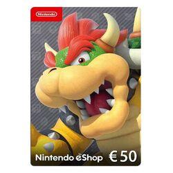Nintendo eShop nabitie peňaženky 50€ na pgs.sk