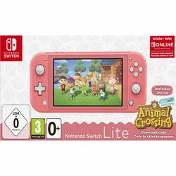 Nintendo Switch Lite, coral + Animal Crossing: New Horizons + trojmesačné predplatné služby Nintendo Switch Online na pgs.sk