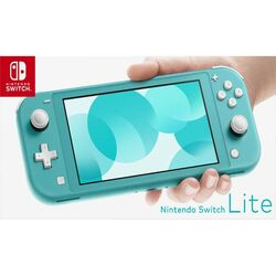 Nintendo Switch Lite, tyrkysová na pgs.sk