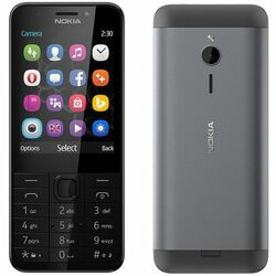 Nokia 230, Dual SIM, Dark Silver - SK distribúcia na progamingshop.sk