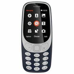 Nokia 3310 (2017), Dual SIM, Blue - OPENBOX (Rozbalený tovar s plnou zárukou) na pgs.sk