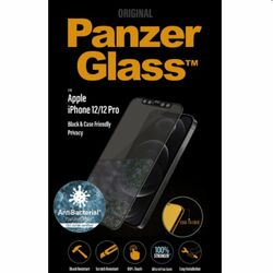 Ochranné sklo PanzerGlass Case Friendly AB pre Apple iPhone 12 Pro, čierne na pgs.sk