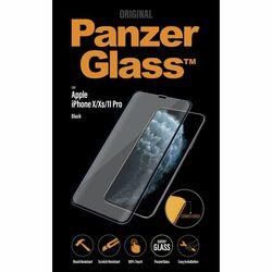 Ochranné temperované sklo PanzerGlass Case Friendly pre Apple iPhone 11 Pro/Xs/X, čierne na pgs.sk