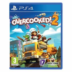 Overcooked 2 [PS4] - BAZÁR (použitý tovar) na progamingshop.sk
