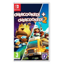 Overcooked! + Overcooked! 2 [NSW] - BAZÁR (použitý tovar) na progamingshop.sk